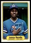 1982 Fleer #516  Lenny Randle  Front Thumbnail