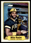 1982 Fleer #481  Mike Easler  Front Thumbnail