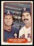 1982 Fleer #642   -  Fred Lynn / Dwight Evans Red Sox Reunion Front Thumbnail