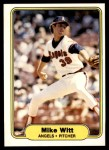 1982 Fleer #473  Mike Witt  Front Thumbnail