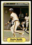 1982 Fleer #582  Ozzie Smith  Front Thumbnail