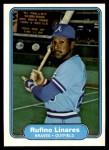 1982 Fleer #439  Rufino Linares  Front Thumbnail