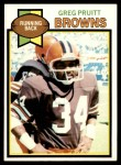 1979 Topps #455  Greg Pruitt  Front Thumbnail