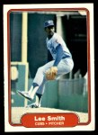1982 Fleer #603 REV Lee Smith  Front Thumbnail