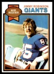 1979 Topps #431  Jimmy Robinson  Front Thumbnail