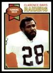 1979 Topps #439  Clarence Davis  Front Thumbnail