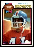 1979 Topps #384  Rob Lytle  Front Thumbnail