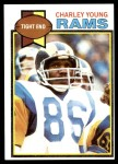1979 Topps #366  Charley Young  Front Thumbnail