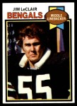 1979 Topps #454  Jim LeClair  Front Thumbnail
