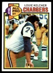 1979 Topps #525   -  Louie Kelcher All-Pro Front Thumbnail