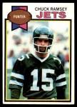 1979 Topps #402  Chuck Ramsey  Front Thumbnail