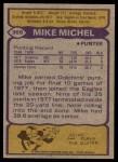 1979 Topps #369  Mike Michel  Back Thumbnail