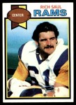1979 Topps #346  Rich Saul  Front Thumbnail