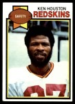 1979 Topps #350  Ken Houston  Front Thumbnail