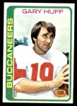 1978 Topps #223  Gary Huff  Front Thumbnail