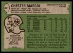 1978 Topps #271  Chester Marcol  Back Thumbnail