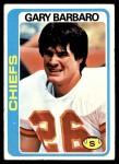1978 Topps #97  Gary Barbaro  Front Thumbnail