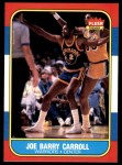 1986 Fleer #14  Joe Barry Carroll  Front Thumbnail