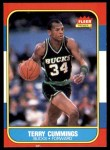 1986 Fleer #20  Terry Cummings  Front Thumbnail