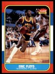 1986 Fleer #34  Sleepy Floyd  Front Thumbnail