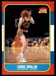 1986 Fleer #77  Chris Mullin  Front Thumbnail