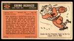 1965 Topps #118  Cosmo Iacavazzi  Back Thumbnail