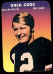 1970 Topps Glossy #23  Greg Cook  Front Thumbnail