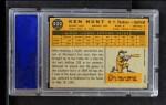 1960 Topps #522  Ken Hunt  Back Thumbnail