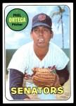 1969 Topps #406  Phil Ortega  Front Thumbnail