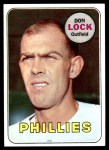 1969 Topps #229  Don Lock  Front Thumbnail