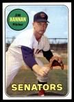 1969 Topps #106  Jim Hannan  Front Thumbnail
