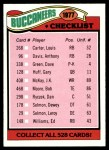 1977 Topps #227   Buccaneers Team Checklist Front Thumbnail