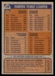 1976 Topps #470   Raiders Team Checklist Back Thumbnail