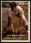 1957 Topps #7  Luis Aparicio  Front Thumbnail