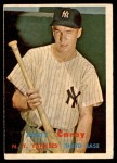 1957 Topps #290  Andy Carey  Front Thumbnail