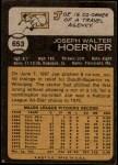 1973 Topps #653  Joe Hoerner  Back Thumbnail