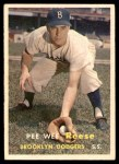 1957 Topps #30  Pee Wee Reese  Front Thumbnail