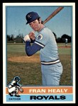 1976 Topps #394  Fran Healy  Front Thumbnail