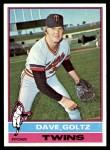 1976 Topps #136  Dave Goltz  Front Thumbnail