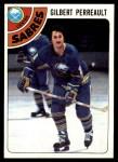 1978 Topps #130  Gilbert Perreault  Front Thumbnail