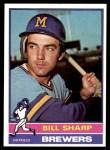 1976 Topps #244  Bill Sharp  Front Thumbnail