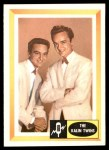 1960 Fleer Spins and Needles #49  The Kalin Twins  Front Thumbnail