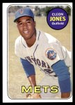 1969 Topps #512  Cleon Jones  Front Thumbnail