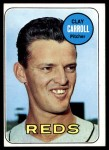 1969 Topps #26  Clay Carroll  Front Thumbnail
