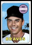 1969 Topps #261  Bob Johnson  Front Thumbnail