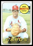 1969 Topps #232  Dave Ricketts  Front Thumbnail