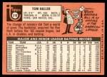 1969 Topps #310  Tom Haller  Back Thumbnail