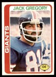 1978 Topps #159  Jack Gregory  Front Thumbnail