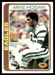 1978 Topps #292  Mike Hogan  Front Thumbnail
