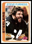 1978 Topps #214  Steve Furness  Front Thumbnail